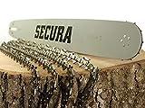 4 Sägeketten + Schwert passend...